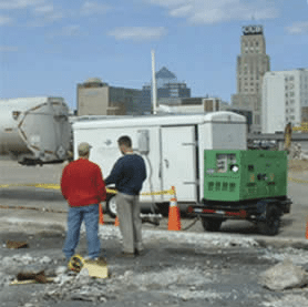 Free product abatement at multi-plume site in Downtown Durham, NC