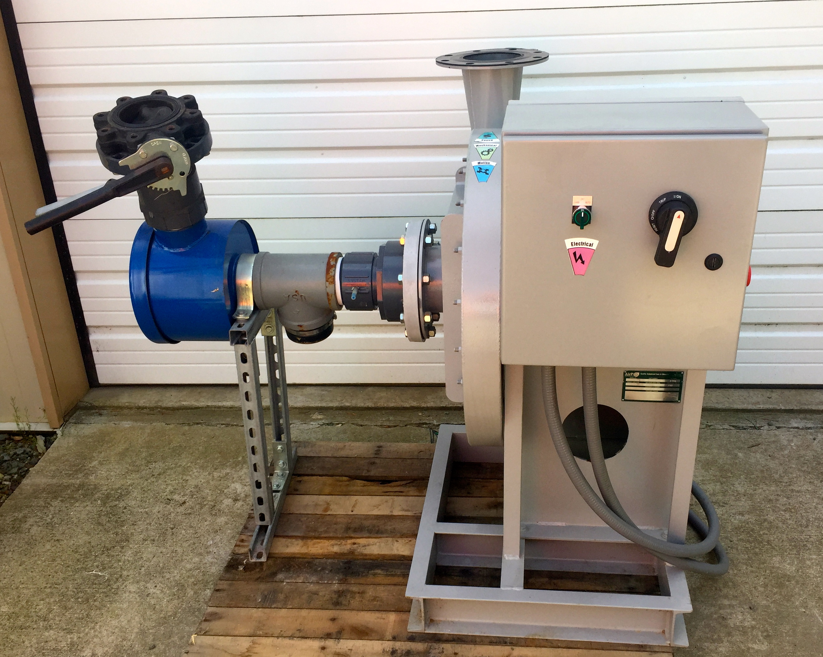 Industrial Blower Filters : Airpro industrial fans and blowers sve skid canister