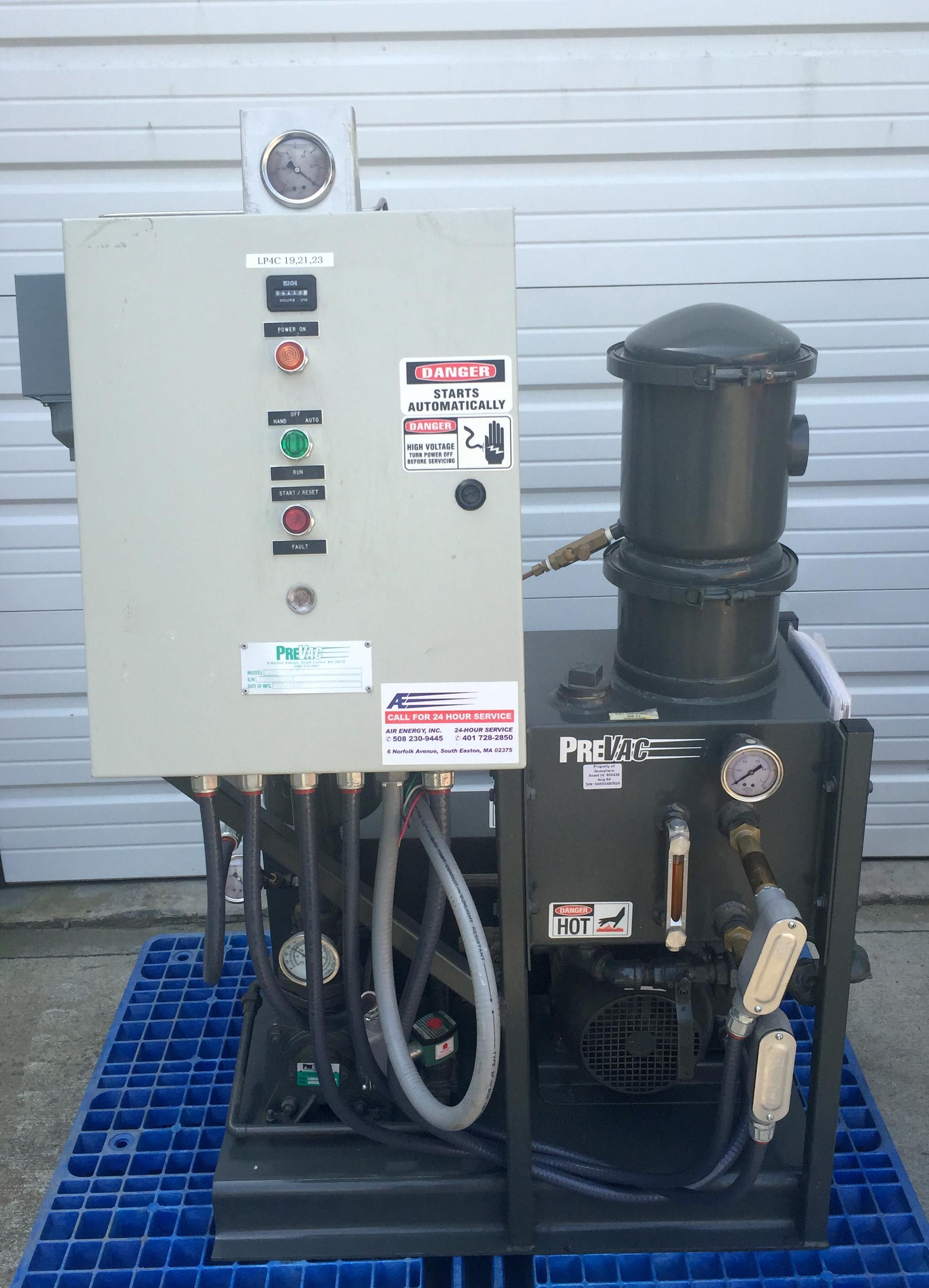 Vacuum Pump System Design : Dpe prevac liquid ring vacuum pump system acfm