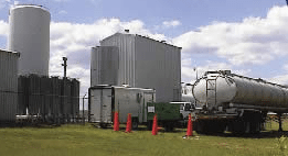 Varsol remediation at chemical production facility