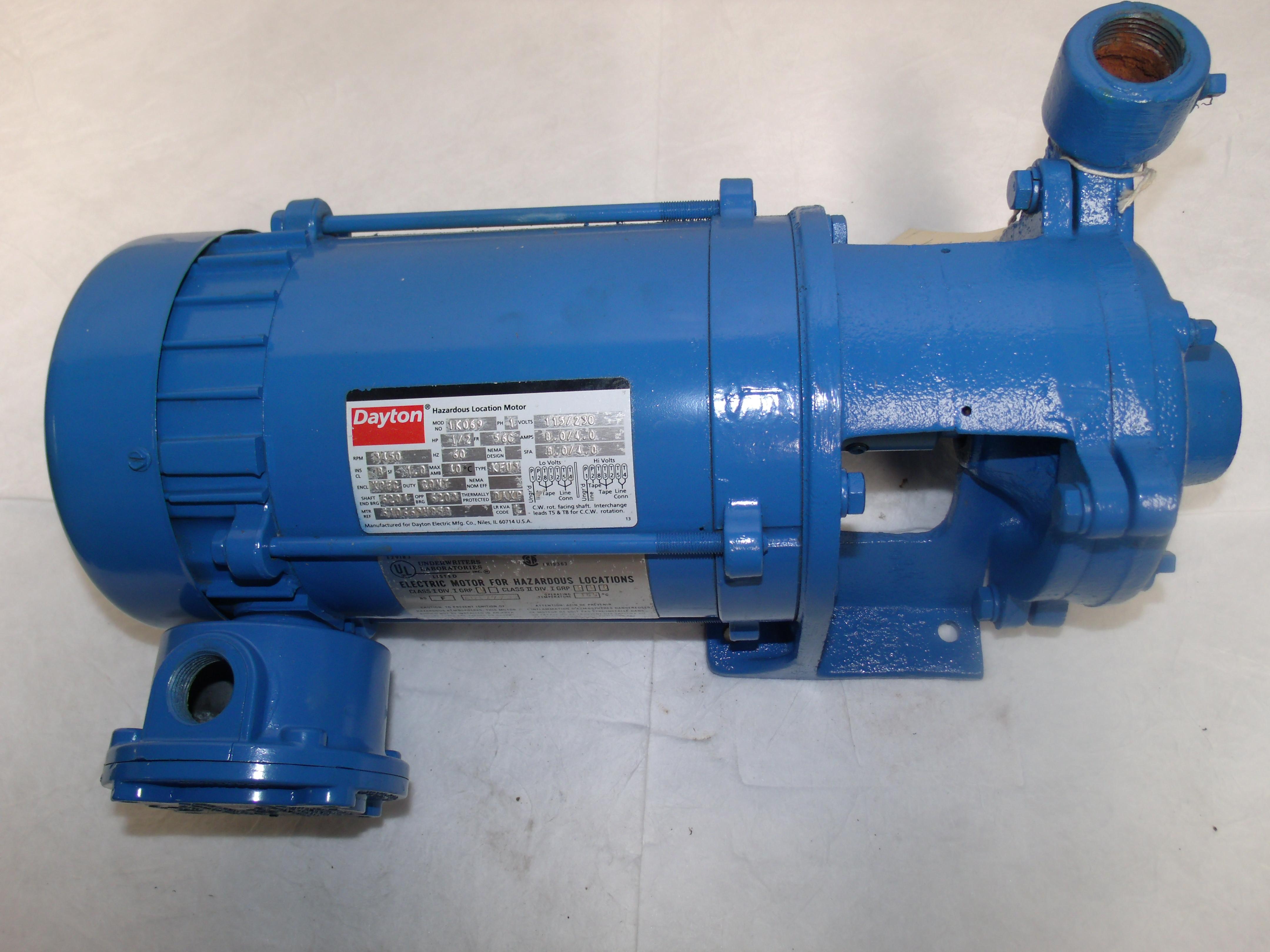Dayton Centrifugal Fans : X dayton centrifugal pump hp advanced