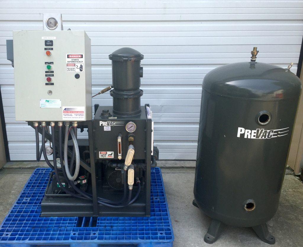 Dpe Prevac Liquid Ring Vacuum Pump System 36 Acfm 26